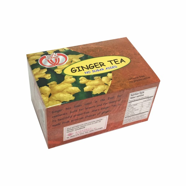 Ginger Tea (No Sugar Added)